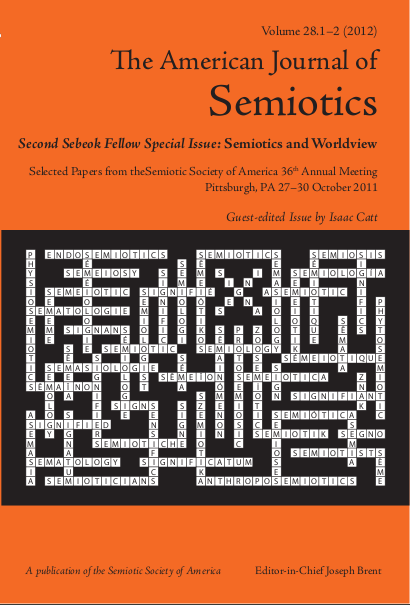 The American Journal of Semiotics