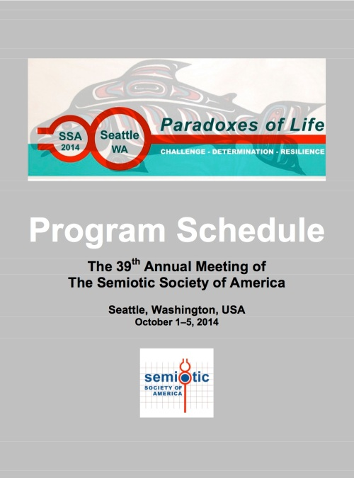 39th SSA Program Schedule (2014)